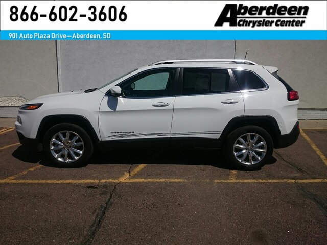 Pre Owned 2017 Jeep Cherokee Limited 4x4