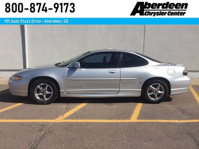 Pre Owned 2002 Pontiac Grand Prix Gt Coupe For Sale 51766d Aberdeen Chrysler Center