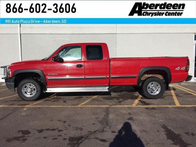 Pre-Owned 2002 Chevrolet Silverado 2500HD LS