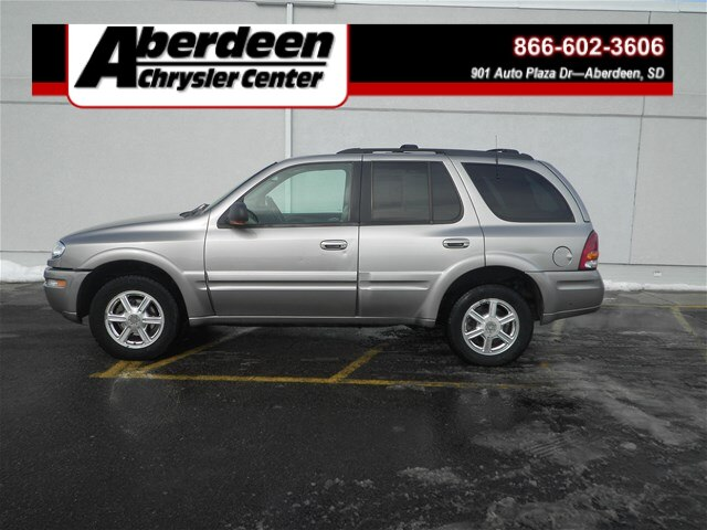 Pre Owned 2002 Oldsmobile Bravada Awd Suv For Sale 50373c
