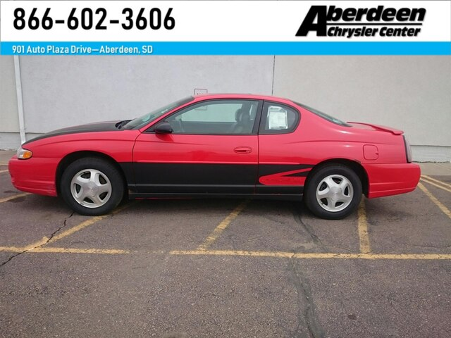Ss Monte Carlo >> Pre Owned 2000 Chevrolet Monte Carlo Ss Coupe For Sale