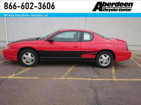 Pre-Owned 2000 Chevrolet Monte Carlo SS